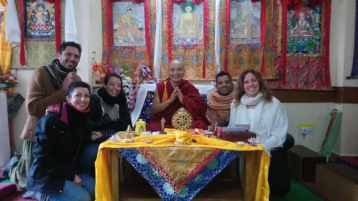 CLASE DE BUDISMO CON RINPOCHE LOBSANG CHOYEGAL